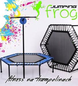 fitness na trampolinach